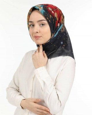 Turkish Hijab, Non-Slip Hijabs, Head Scarf for Women, Sycamore Leaf