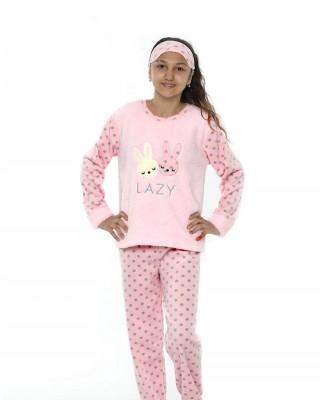 Turkish Girls' Pajamas & Sleepwear, Fluffy Loungewear, Winter Polar PJS for Kids