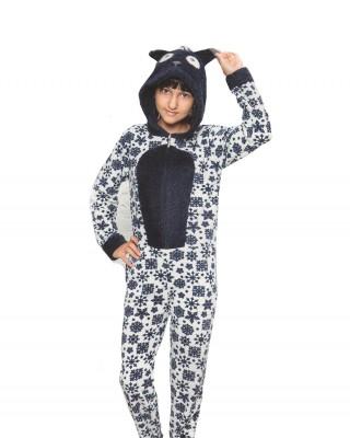 Overalls for Girls, Pajama Model Girls' Overalls