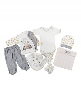 Turkish Baby Clothes Set, Newborn Clothes, Outfits Infant, 9 Pieces