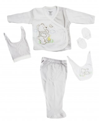Turkish Baby Clothes Set, Newborn Clothes, Outfits Infant, 5 Pieces