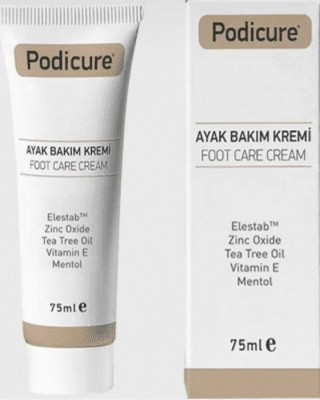 PODICURE Foot Care Cream, Cracked Foot Treatment, Dry Heels Treatment, Tea Leaf Oil, Vitamin E, 75 Ml